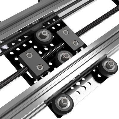 An example of the XL Gantry Plate on the Maker Store Linear Actuator. Take a look at the image: